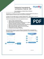 Instructivo Transcripción incapacidades por APP