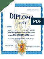 FOTBAL - Diplomă 2018