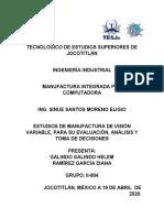 ESTUDIOS DE MANUFACTURA DE VISIÓN VARIABLE, PARA SU EVALUACIÓN, ANÁLISIS Y TOMA DE DECISIONES.docx