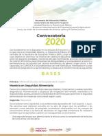 Convocatoria_SeguridadAlimentaria_2020