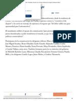 Alberto Fernández conversó con el Grupo Puebla tras el ataque de Mauricio Macri