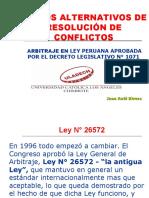 Arbitraje en Peru - juan