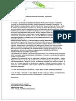 CARTA DE COMPROMISO A