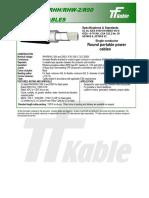 DLORHHRHW-2 CPE 600-2000V 75C Full Electricals 03-2009