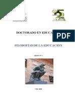 Filosofías de la Educación_Grupo 2