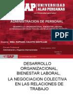 Semana 7 Desarrollo Organizacional, Bienestar Laboral,