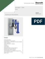Servo Hydraulic Actuator