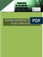 Nigeria Deserves the Best