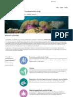 2019_FAO_Servicios culturales _ Servicios ecosistémicos y biodiversidad
