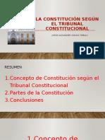 LA CONSTITUCIÓN SEGÚN EL TRIBUNAL CONSTITUCIONAL para PPT.pptx