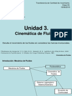 U3. Cinemática de Fluidos