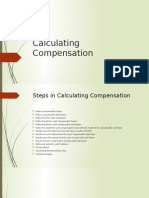 Calculating Compensation
