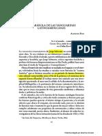 Texto N° 01 - Alfredo Bosi, La parábola de las vanguardias latinoamericanas. Jorge Schwartz, Introducción 22-04