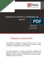 CDT y Certificados (2)