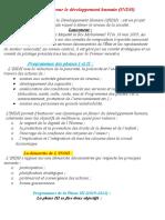 Initiative nationale pour le développement humain INDH