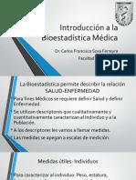 Introducción a la Bioestadística Médica