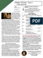 Bulletin - April 26, 2020