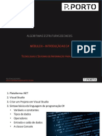 AED-Modulo 2.1 Introdução C#