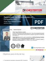 MULTIPLES Reparaciones REALIZADAS EN FORMA NO Convencionalcon Composites ARC
