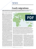 shadows of early migrations