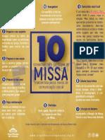 10 Conselhos para Missa - Transmissão