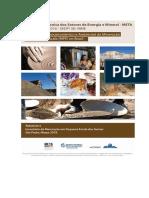 Relatório do Inventário da Mineração em Pequena Escala das Gemas