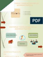 HISTORIA Y EVOLUCION DE LA ADMINISTRACION SENA