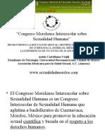 Presentacion Del VII Congreso Nacional de Educacion Sexual y Sexologia