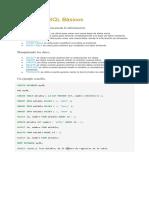 Comandos SQL Básicos