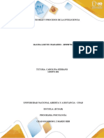 Fase 2 - Teorias y procesos de la inteligencia