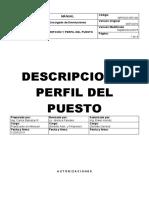 Descripcion Perfil del Puesto Encargado Devoluciones.docx