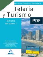 Vol1 TEMARIO CUERPO DE PROFESORES DE ENSEÑANZA SECUNDARIA. HOSTELERÍA Y TURISMO.