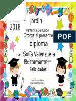 Diploma 2018 jardin