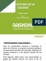 ASEGURAMIENTO DE LA CALIDAD PRIMERA SESION