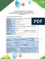 Guía de Actividades y Rúbrica de Evaluación - Fase 1 - Planificación....