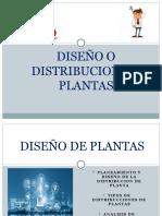 LOCALIACION DISEÑO DE PLANTAS