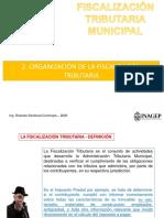 Sesión 2 La organización de la fiscalización tributaria