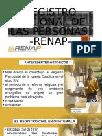 EXPO REGISTRO NACIONAL DE LAS PERSONAS