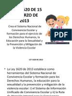 presentacion LEY 1620 DE 2013