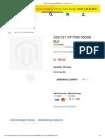 SSD EXT HP P500 500GB BLK _ Loginstore.com