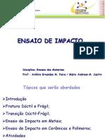 ENSAIO DE IMPACTO (AULA FINAL)