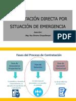 Contratación Directa Por Situación de Emergencia - Covid 19 Osce