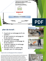 Nettoyage fin chantier (Chantier et ses composants).pptx