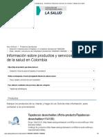 Tapabocas Antialérgicos - Suministros, Dotaciones y Servicios en Colombia. Catálogo de la Salud