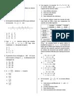 Prueba, Examen de Admisión UN - Matemáticas 01 (1)
