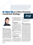 Dr. Alyce SU on Global China Investment Strategy