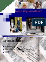 presentación 3 medio el texto argumentativo