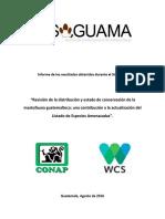 Revision-distribucion-estado-conservacion-mastofauna-Guatemala (1)