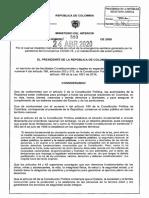 Este es el nuevo decreto que extiende la cuarentena nacional