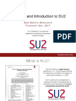 2017 Welcome and Introduction to SU2(PPT,20P)